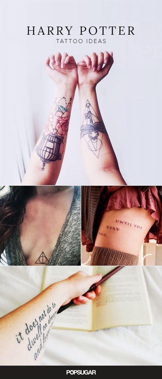 These Harry Potter fans are going to inspire your next tattoo.