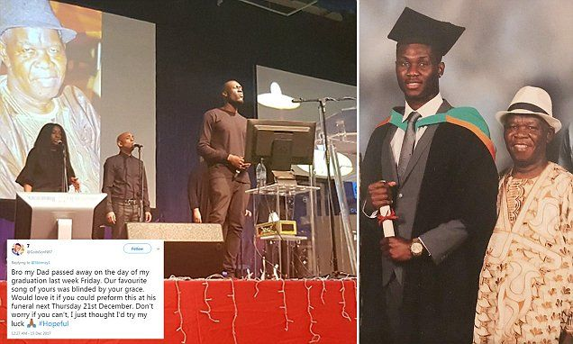 Stormzy attends funeral of fan's father after tweet goes viral