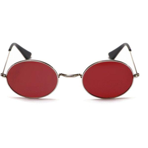 Murdock Sunglasses ($80) ❤ liked on Polyvore featuring accessories, eyewear, sunglasses, retro sunglasses, murdock london, retro style sunglasses and retro glasses