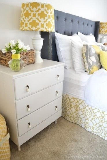 Decorating With Berry Hues And Mustard Colors. Blue And Yellow ...