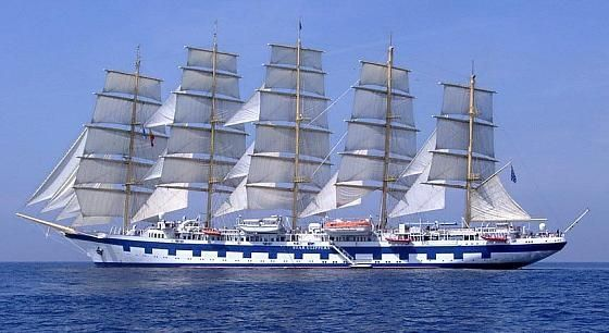 "Fully Rigged ""Royal Clipper"""