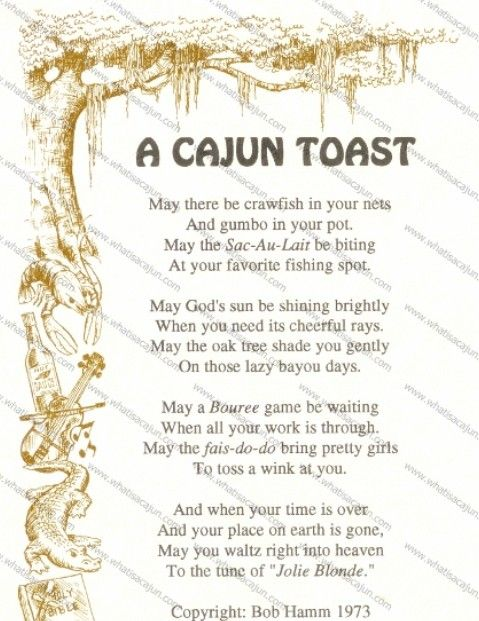 A cajun toast i have not seen this in years - Southern french cuisine ...