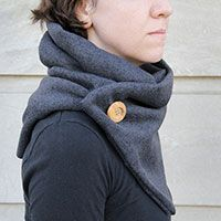 We Can Make Anything: no-knit cowl
