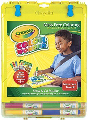 Crayola Color Wonder Travel Tote (colors & styles may vary) Crayola http://www.amazon.com/dp/B001KW0606/ref=cm_sw_r_pi_dp_JIgNvb0YZK8YS