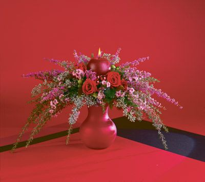 christmas flower designs | christmas floral designs: hasso