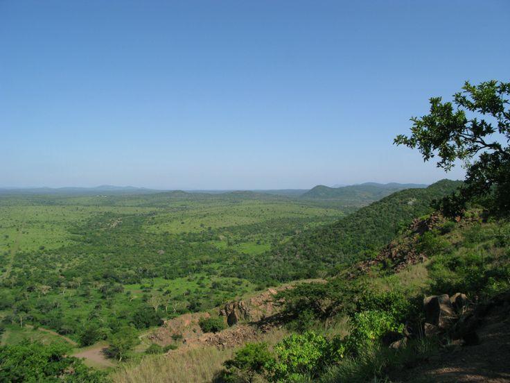 Stunning landscape scenery from Zulu Nyala