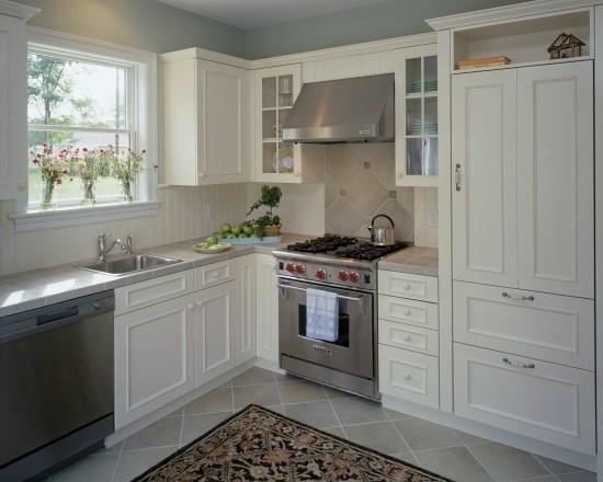 dishwasher, sink, stove, fridge