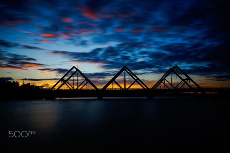 Bridge - A bridge named Honkahimmeli in Mäntyharju Finland