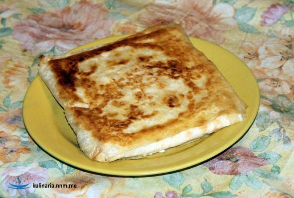Быстрая, горячая, сырная закуска
