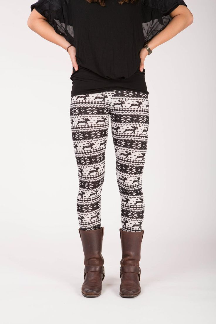 Olwen - Winter print legging