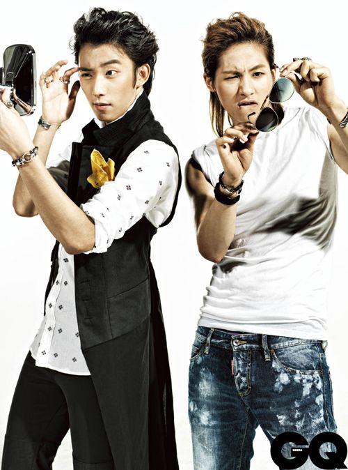 B1A4's Gongchan & CNU // GQ Korea // August 2013