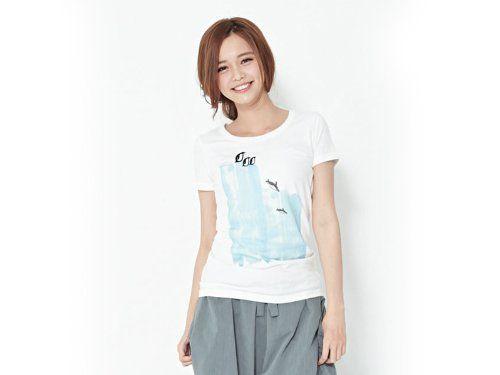 Amazon.co.jp: 【木易 so that's me】半袖Tシャツ・ペンギン【ピーチコットン】【ホワイト】【Mサイズ】【レディース】【綿100%】: ホーム&キッチン