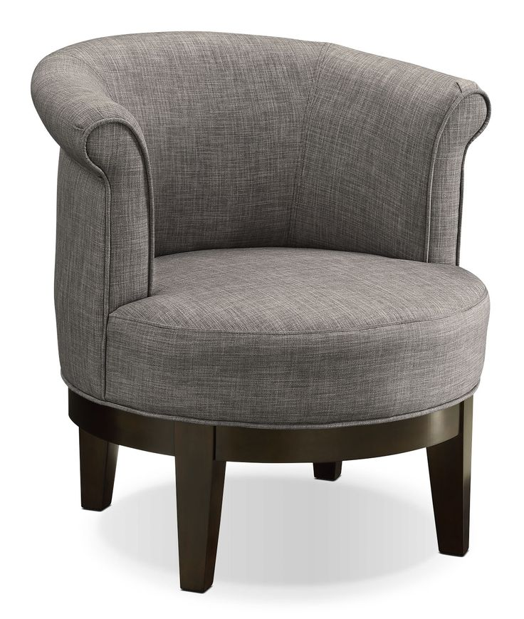 Lino Fabric Swivel Accent Chair U2013Platinum. Living Room ChairsLiving ... Part 43