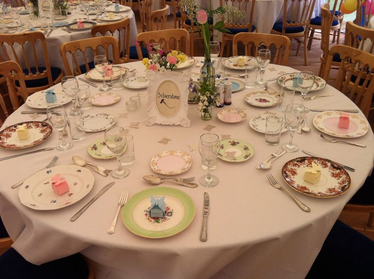 One of our many weddings with The Creative Crockery Company