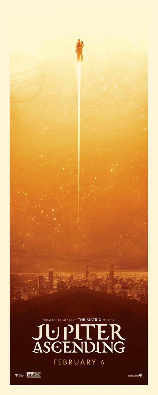 Jupiter Ascending - alternate poster artwork from Art Machine and Little Giant Studios