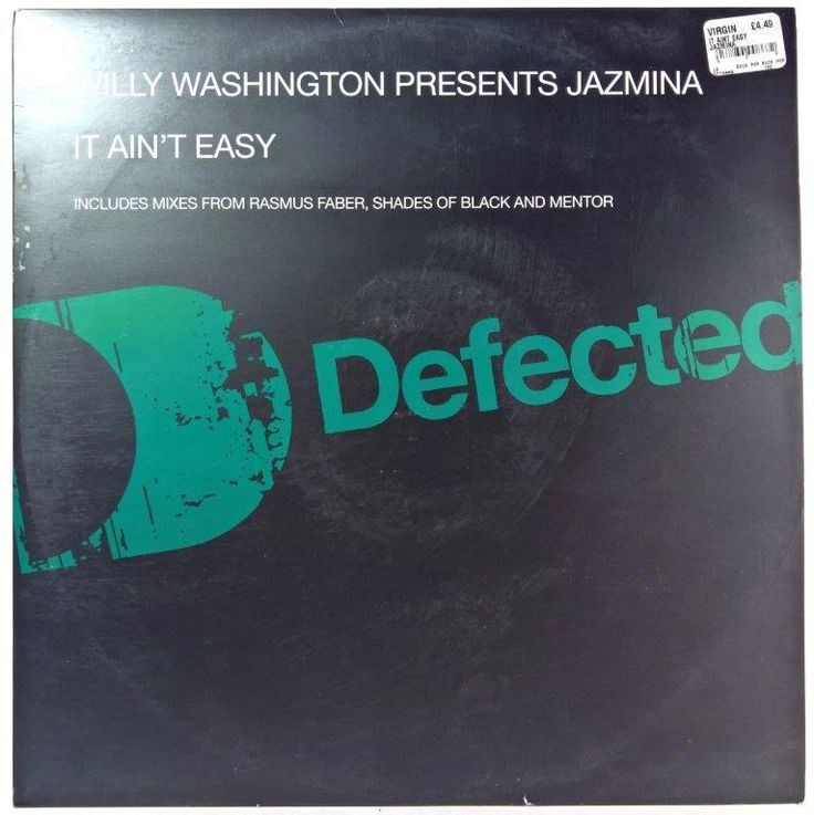 Willy Washington Presents Jazmina - It Ain't Easy