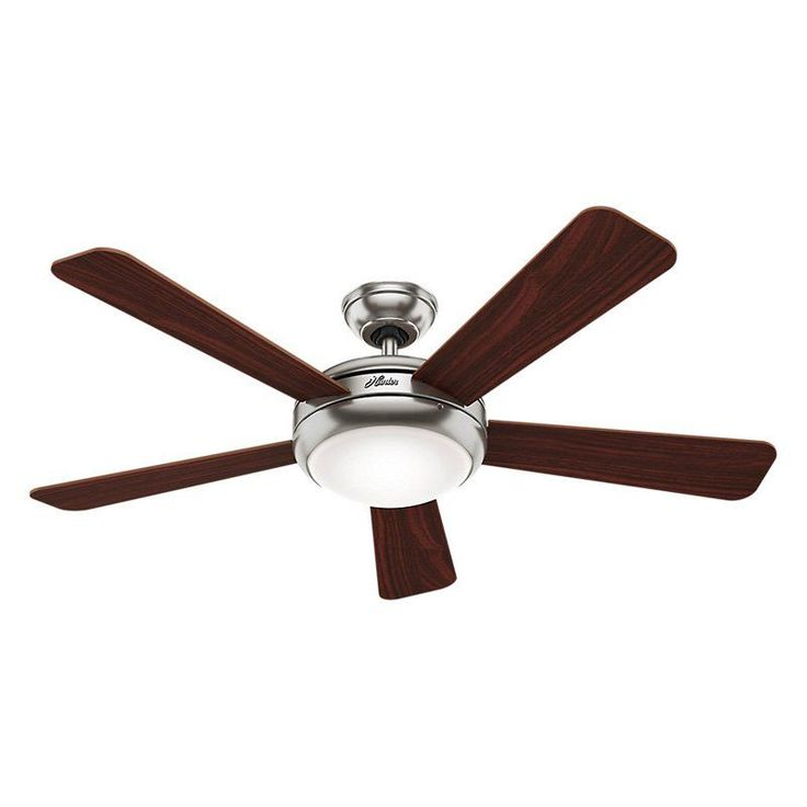 Hunter Palermo 52 in. Indoor Ceiling Fan with Integrated Light and Remote - 59052