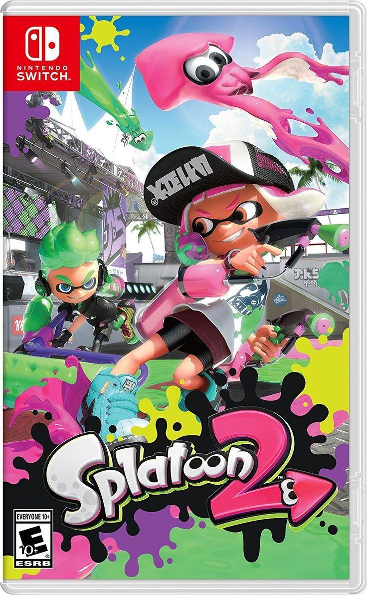Deals on Nintendo switch games, Nintendo switch splatoon