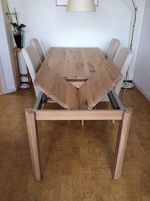 1000 images about uitschuifbare tafels on pinterest for Uitschuifbare eettafel