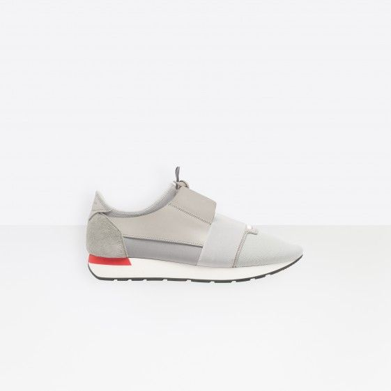 Shop Balenciaga Multimaterial Contrasted Runners Grey Men in Balenciaga Sale online with Balenciaga Sneakers Sale and Cheap Balenciaga #shoes #runners #sneakers #lifestyle #spring #ss18