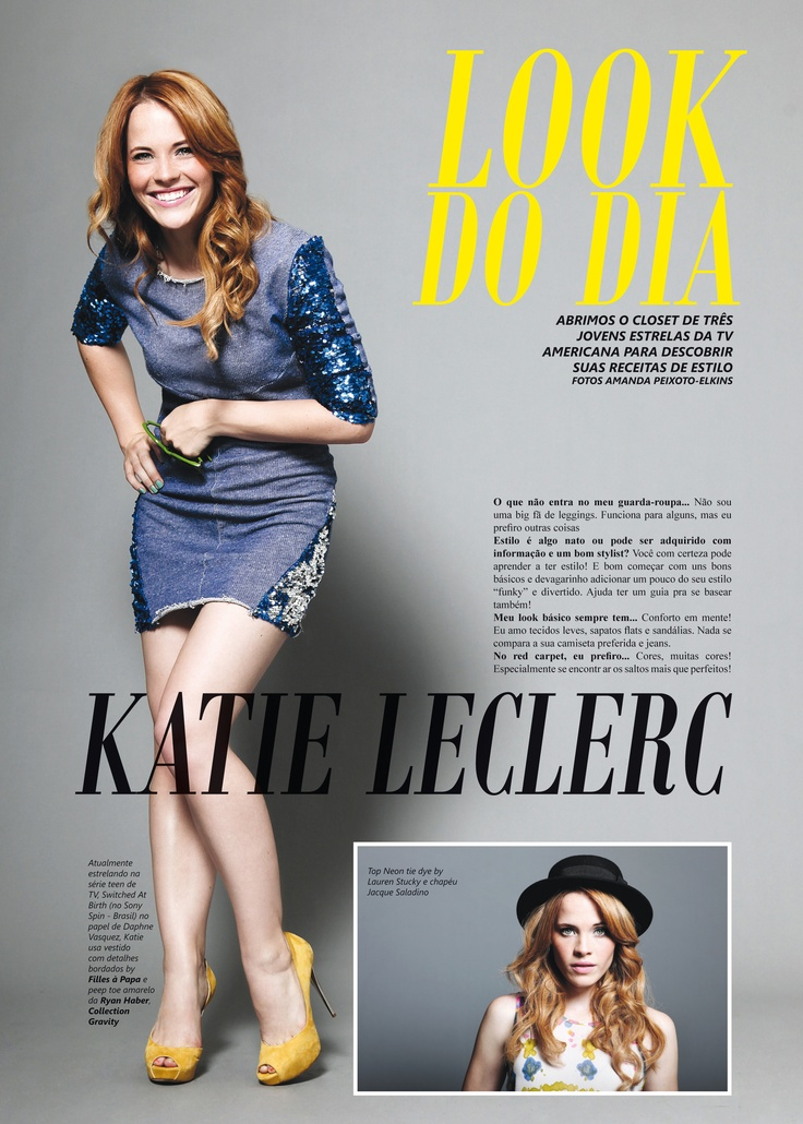 """Katie Leclerc of """"Switched at Birth"""""""