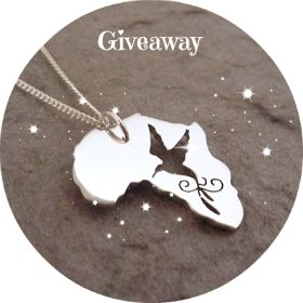 Facebook Giveaway - Africa Bird Pendant
