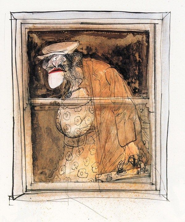 George Orwell S Animal Farm Illustrated By Ralph Steadman Brain Pickings Ralph Steadman Art Ralph Steadman Farm Paintings
