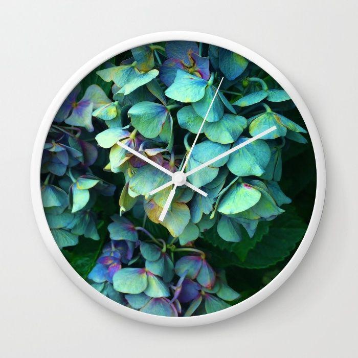 Treasure of Nature VII Wall Clock by Mixed Imagery | Society6