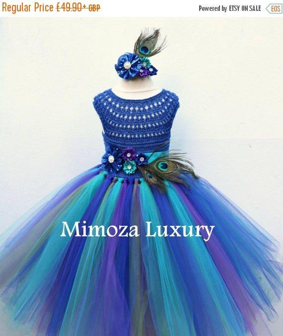 VENTA pavo real azul vestido vestido azul pavo real vestido