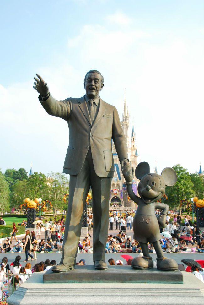 Fantasmagoria lui Walt Disney ia naștere în anul 1923, odată cu deschiderea primului studio de animații din lume.