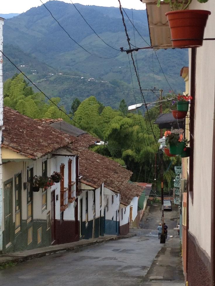 Calle de Salamina, Caldas