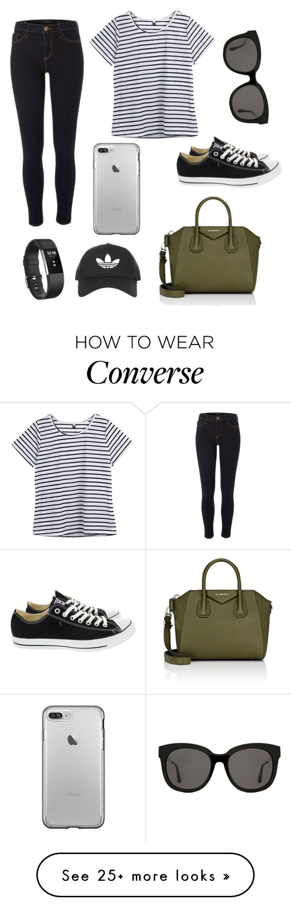 """Lazy days !!"" by emily1200 on Polyvore featuring River Island, Converse, Givenchy, Gentle Monster, Fitbit and Topshop"