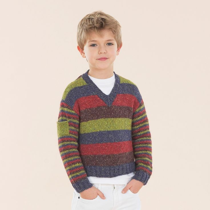 Get into Sublime colour for boys - The Luxurious Aran Tweed hand knit book