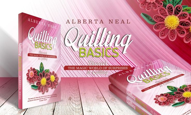 #Quilling Basics: Discover the Magic World of Surprises in Quilling is a complete guide in the art of quilling, beginning with the presentation of quilling tools, materials, types of paper required for quilling, until the moment when you manage to transform simple ideas into real treasures. #Books