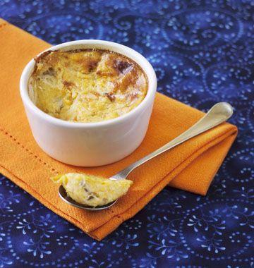 Flan de potiron au roquefort - Recettes de cuisine Ôdélices