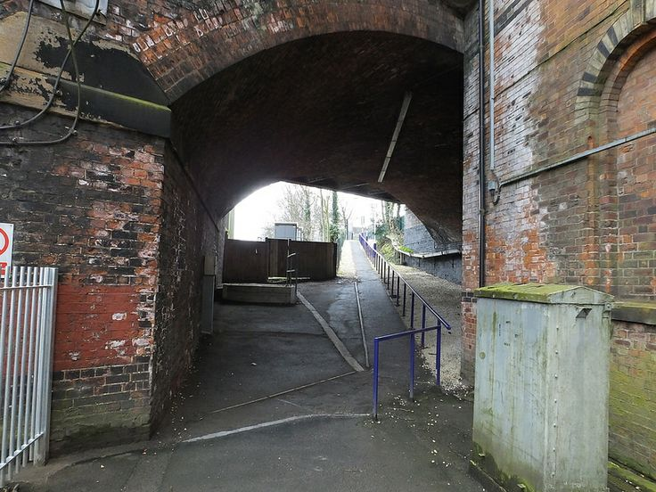 Heaton Chapel Exit Ramp