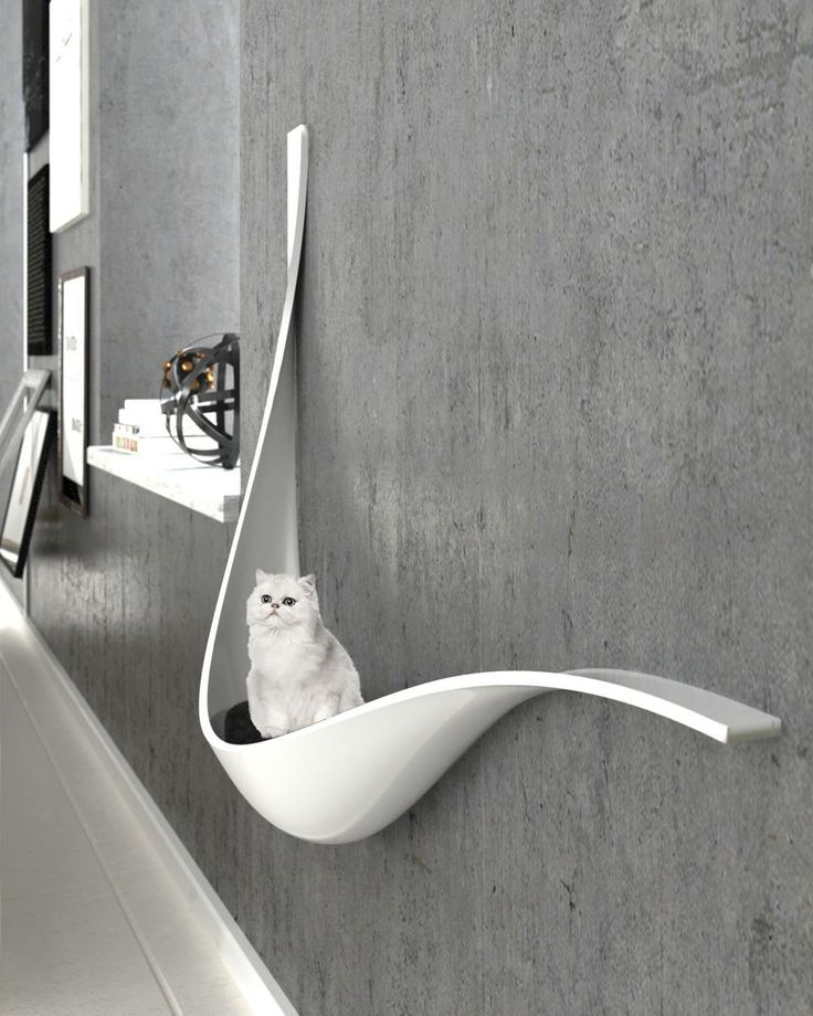 A new generation of pet houses, like it? Cat house by MA #Tehran, Iran  ____ Inf