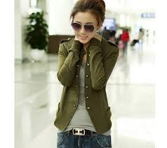 chaqueta dama estilo militar - Buscar con Google