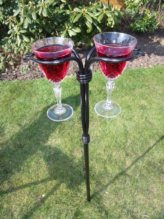 Wine glass holder by ChrisTheSmith on Etsy, £45.00