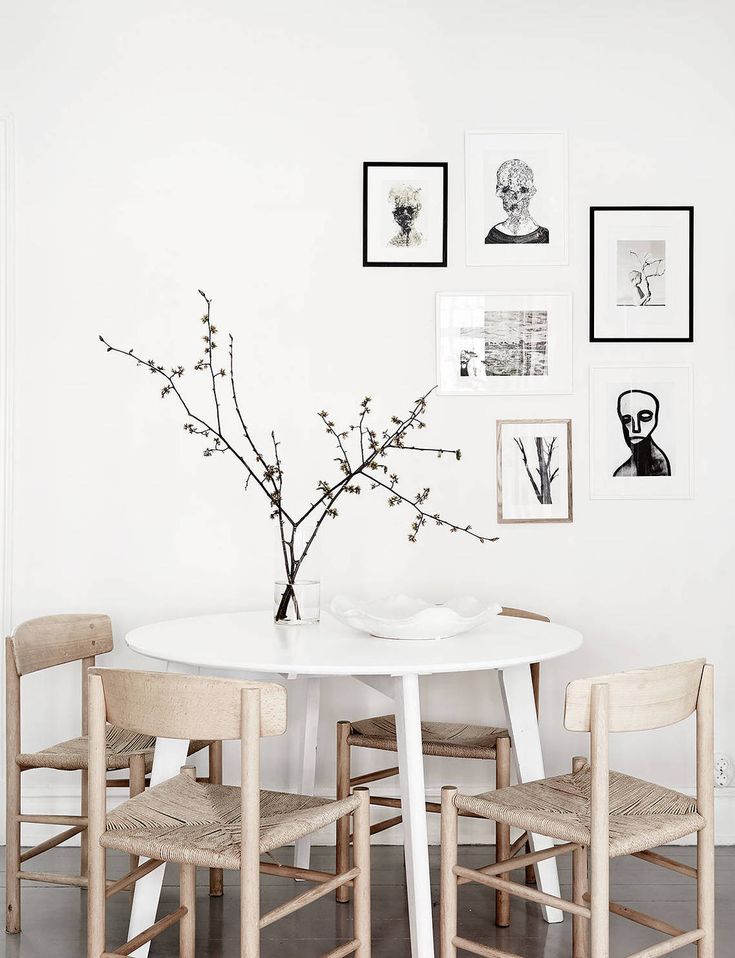 j39 chair in a bright home with a soft look via coco lapine design