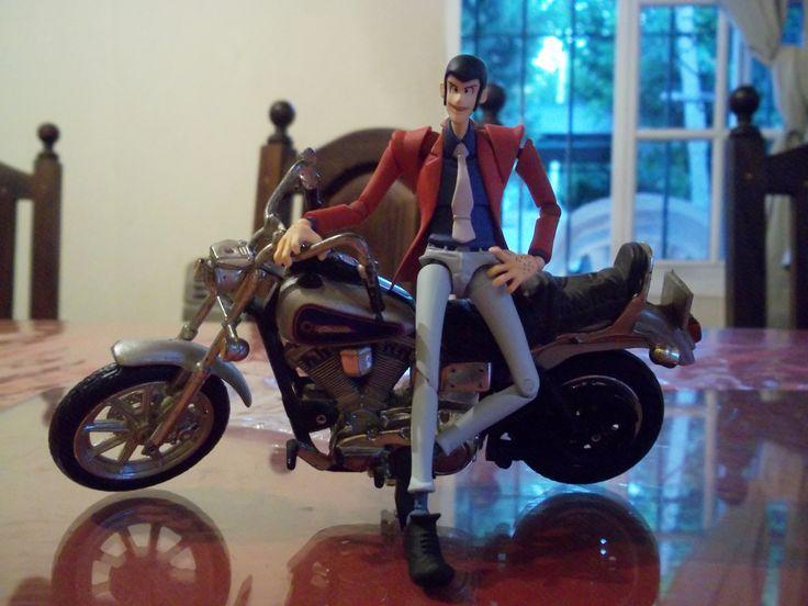 My Revoltech Lupin III. Love it.