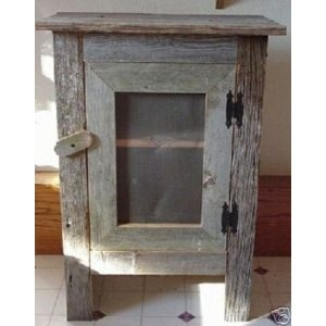 old barn wood ideas | : Old Barn Wood Cabinet. This Simple, Yet Striking Piece of Old Barn ...