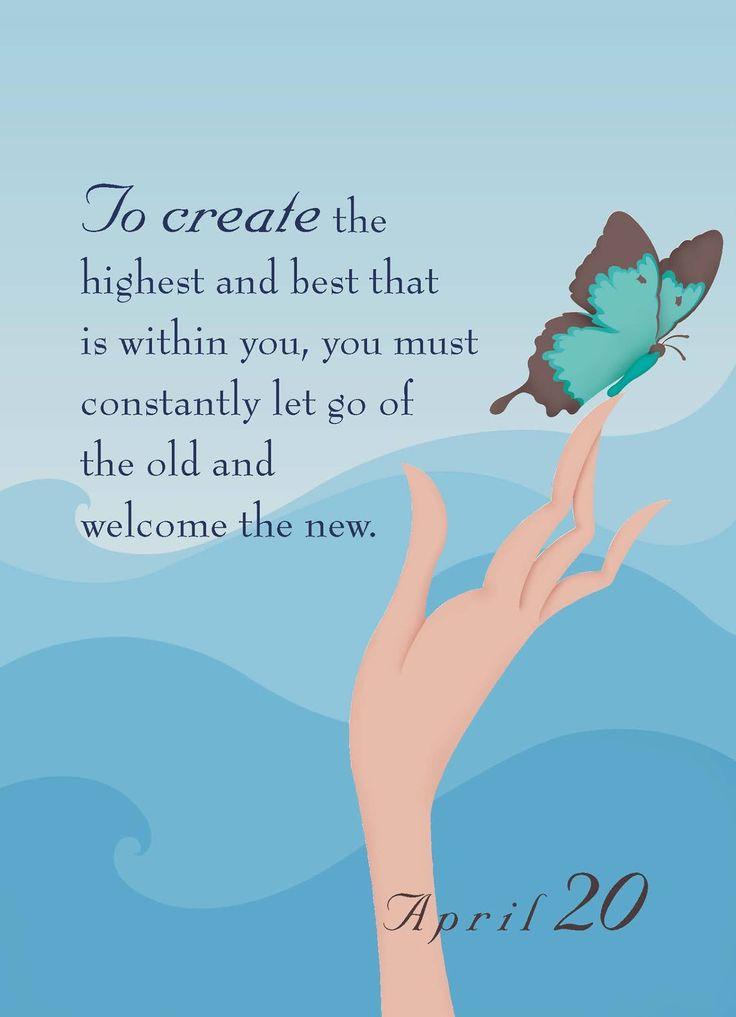 Perfect advice, on my birthday.   ~Dr.Christiane Northrup.