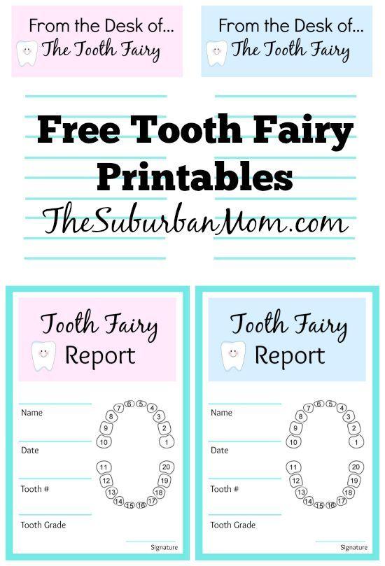 Fun Tooth Fairy Ideas Printables