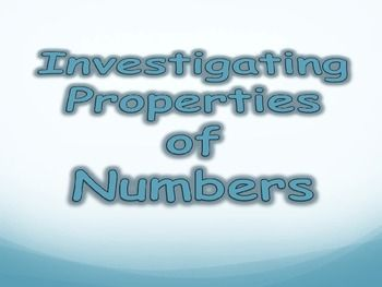 A Powerpoint presentation to introduce triangular numbers, square numbers, factors, prime numbers and prime factors. The presentation is divided into five short lessons.