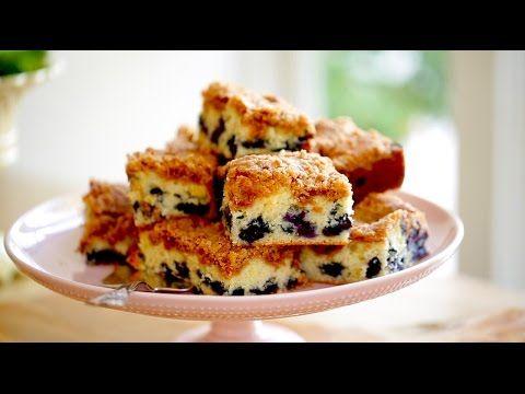 Beth's Blueberry Crumb Cake Recipe   ENTERTAINING WITH BETH - YouTube