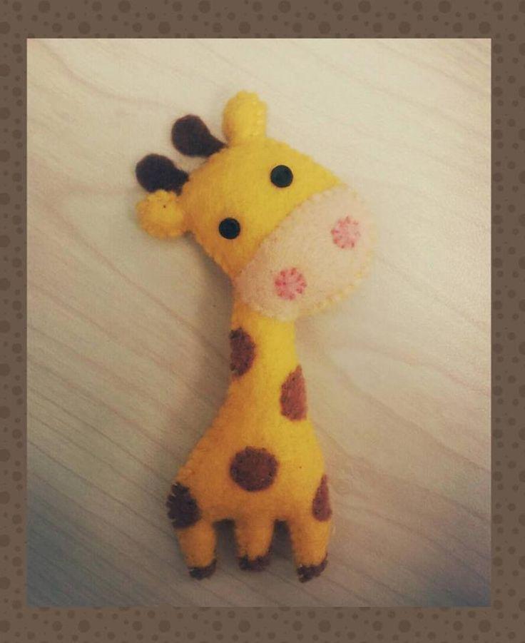 #Giraffe felt