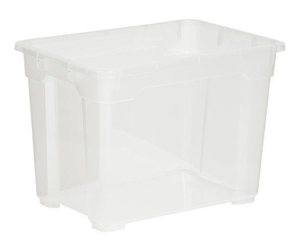 Förvaringsbox R-box Small Transparent Plast - Förvaring - Rusta