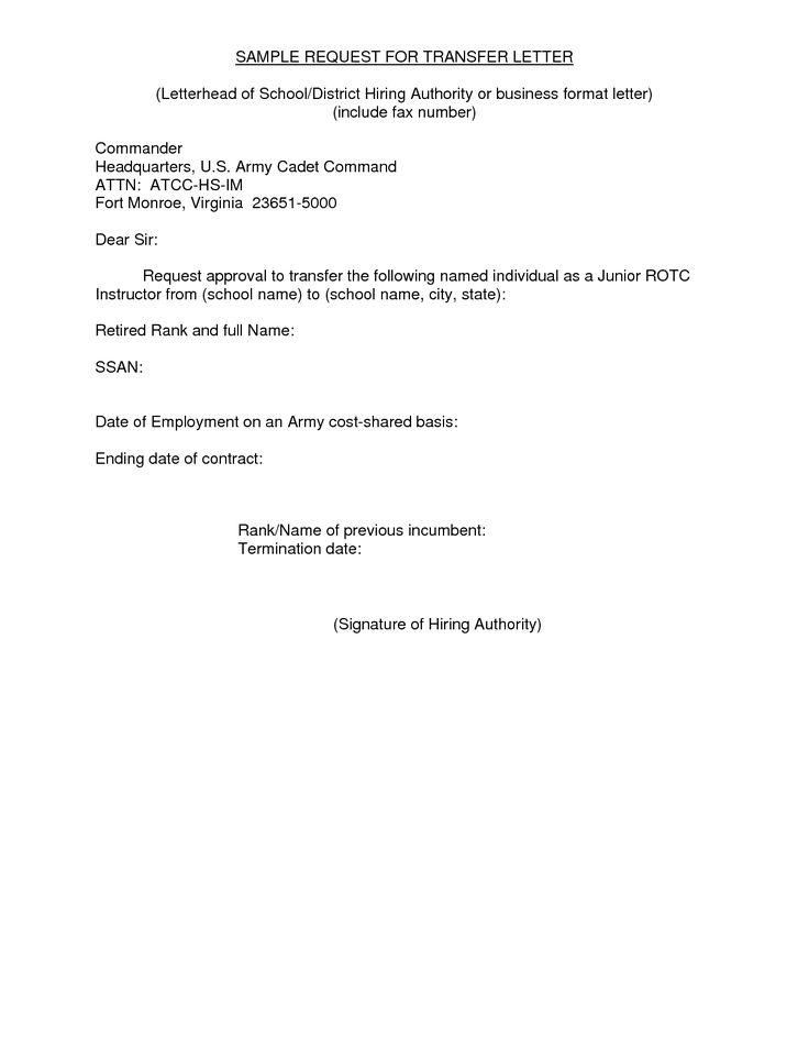 Reference Request Letter Sample 3 Letter