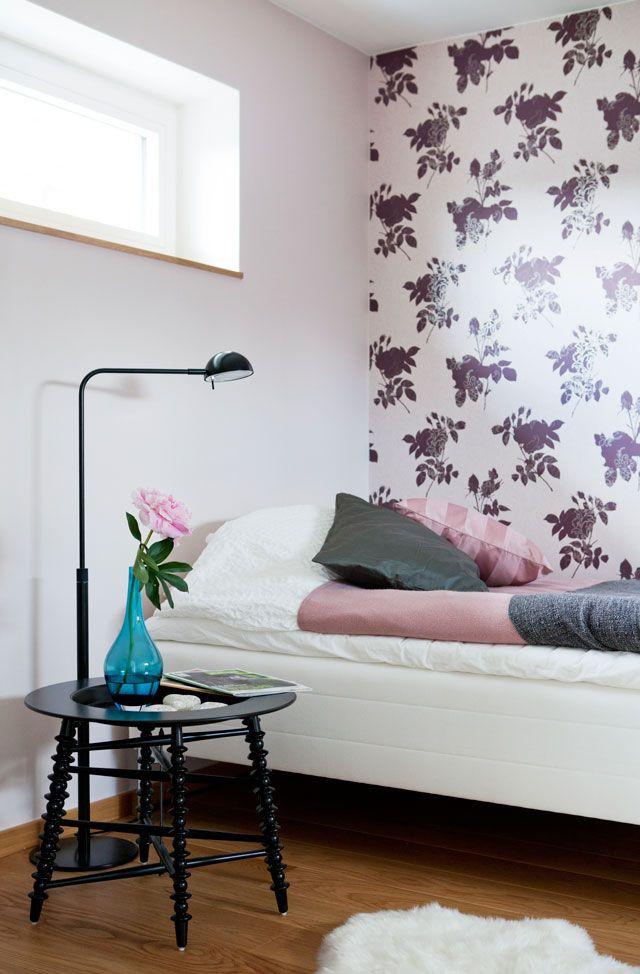 Ett mindre sovrum i passivhuset